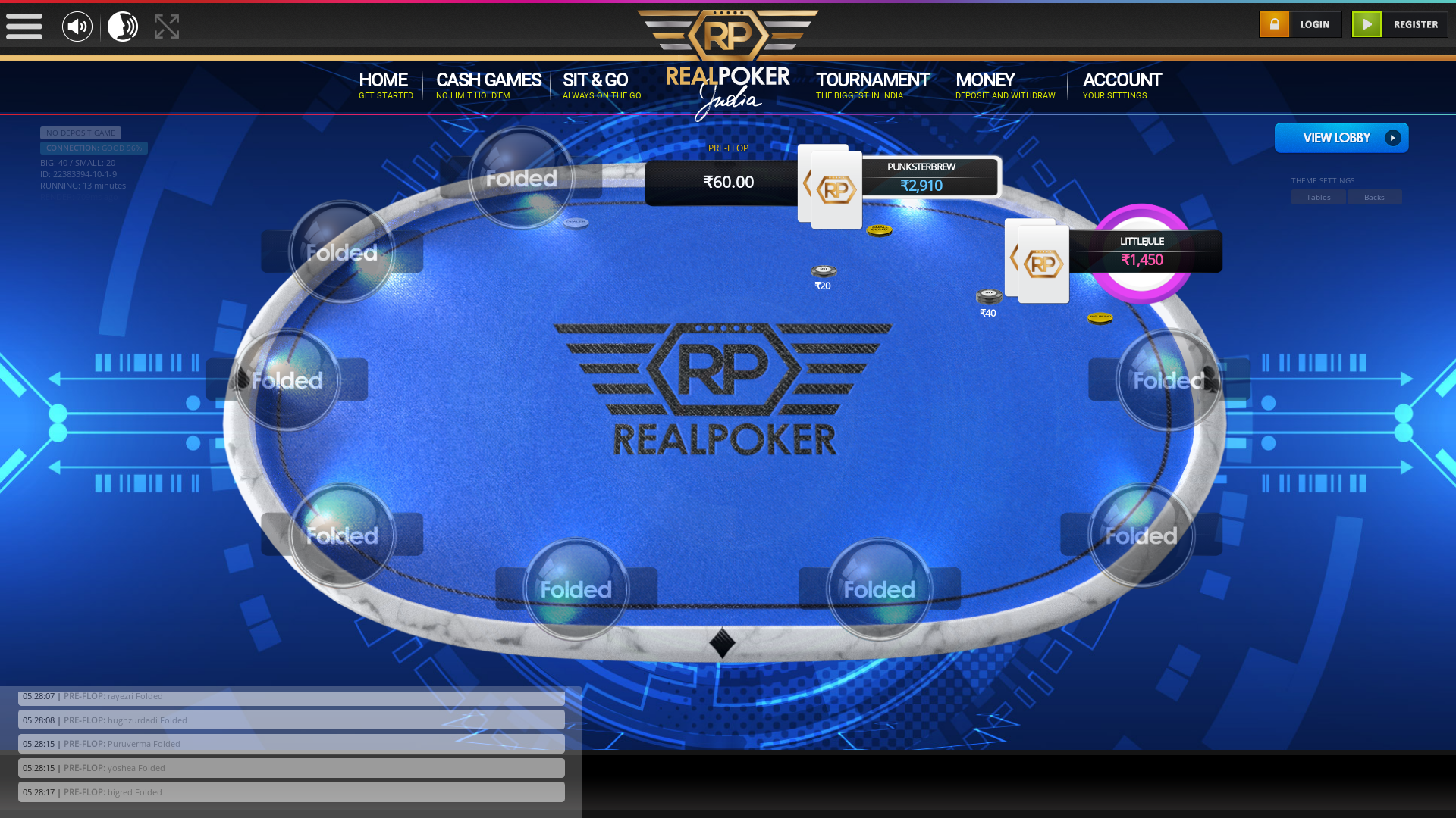 Hauz Khas, New Delhi Poker Website from 23rd August