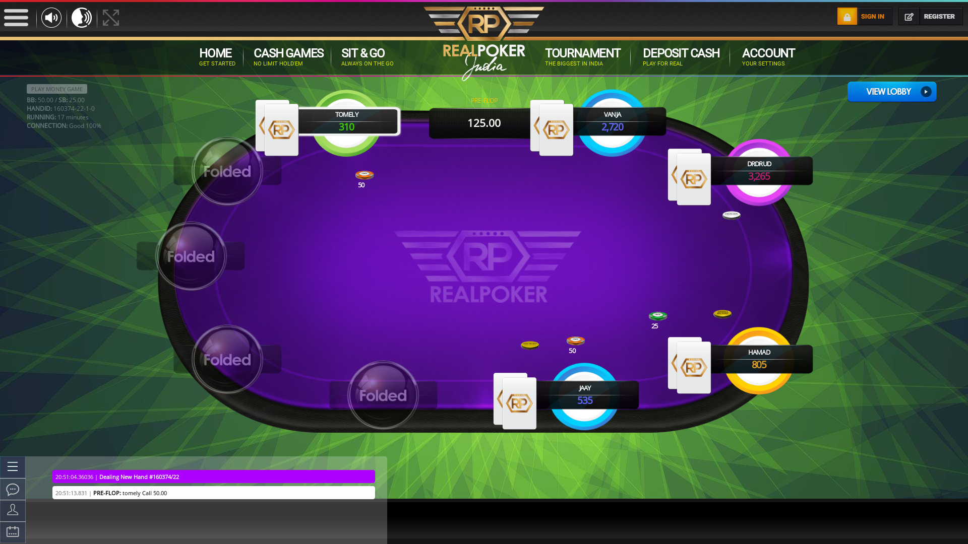 Bhilai Real Poker 10 Player