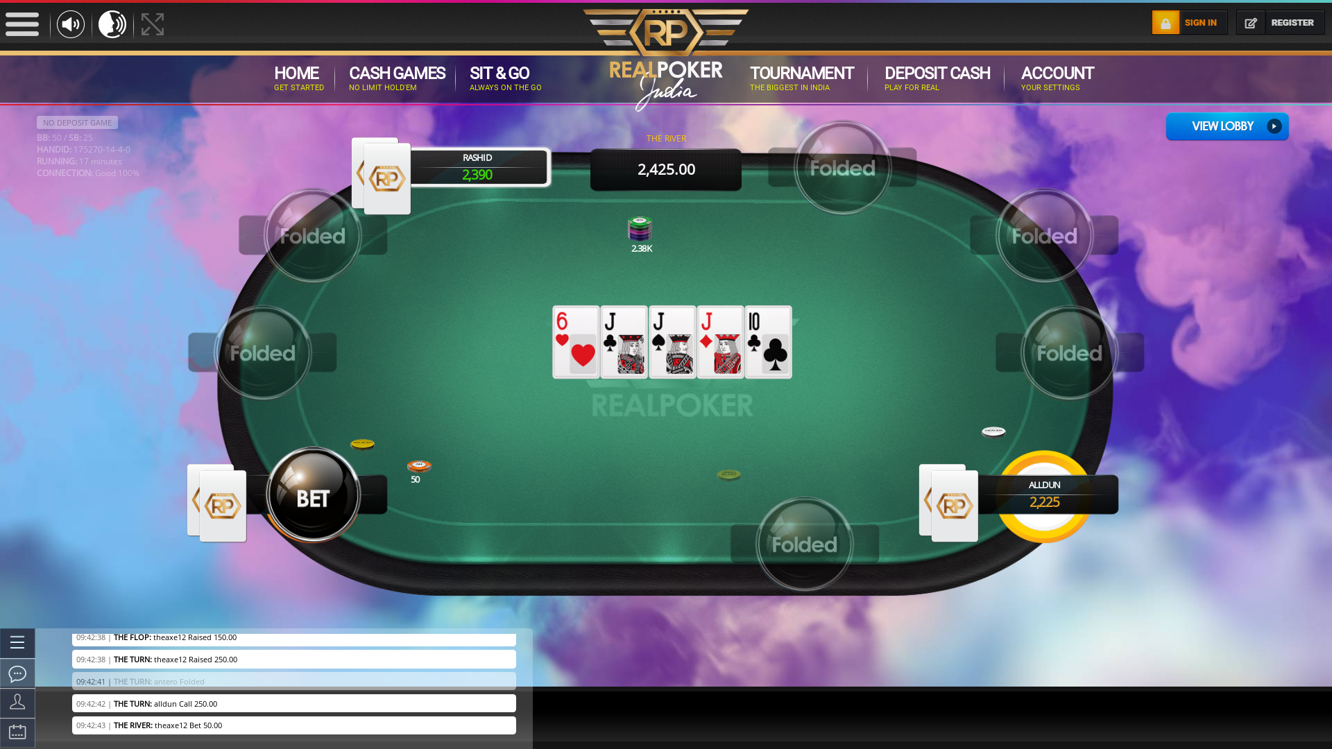 Bhikaji Cama Place Online Poker from 18th August