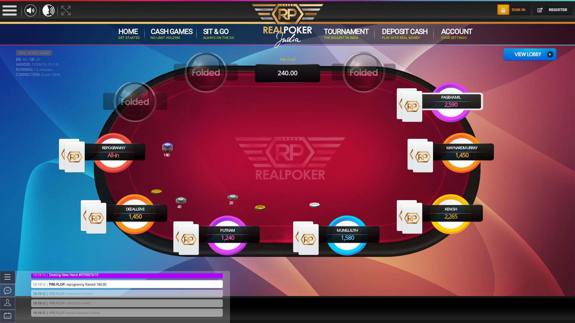 Delhiite Holdem Poker 10 Player