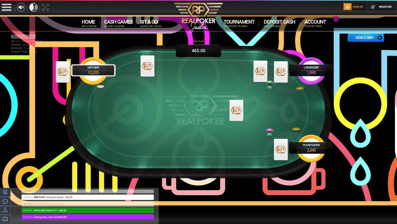 Poker for real money online