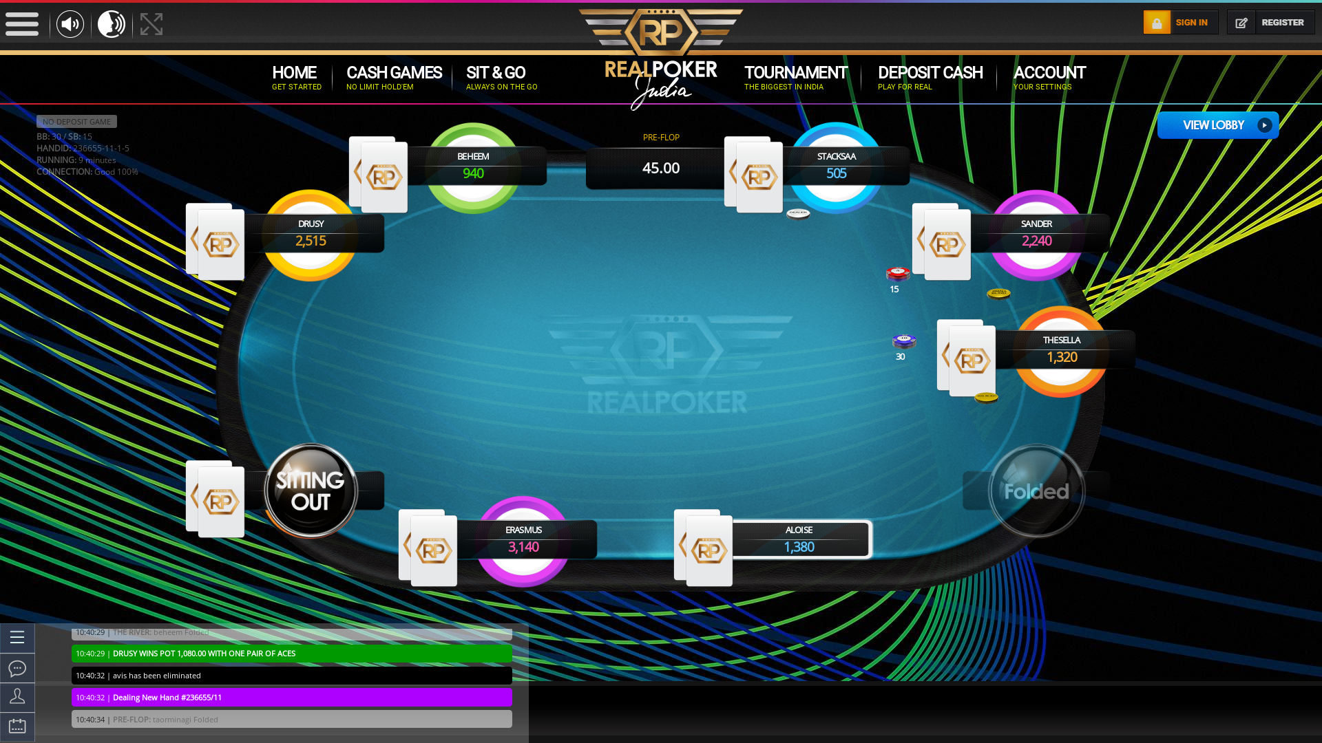 Nandini Layout, Bangalore Jackpot Poker 10 Player