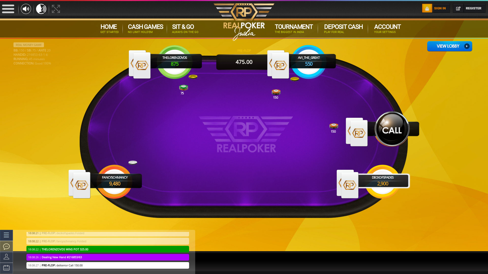 Banashankari, Bangalore texas holdem poker table on a 10 player table in the 44th minute