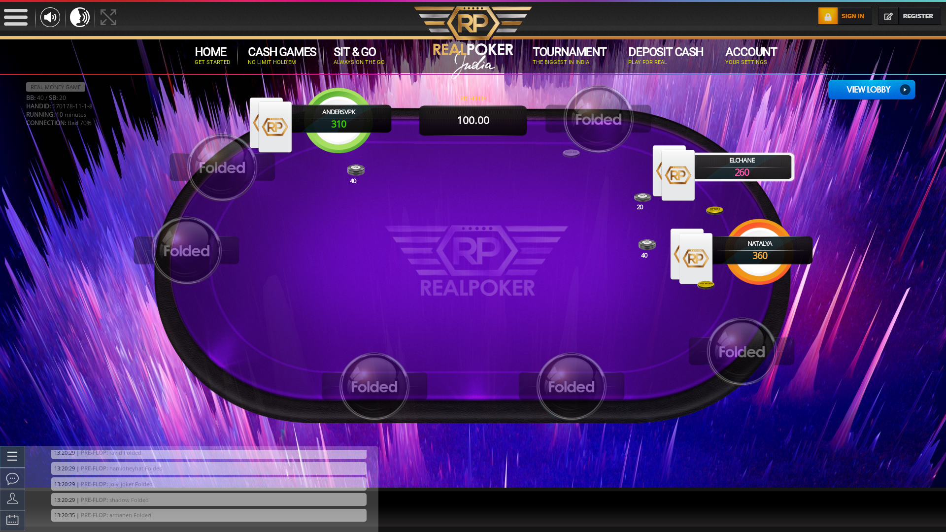 Play poker for fun online at Real Poker India | Real Poker India