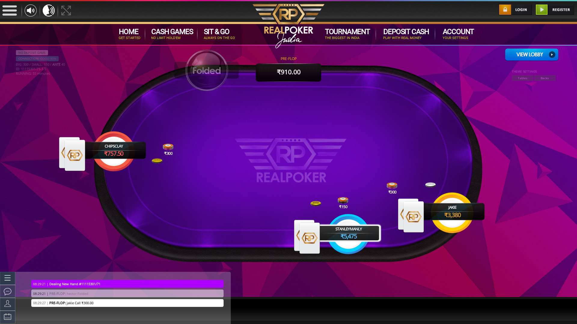 Rajouri Garden, New Delhi Online Poker 10 Player