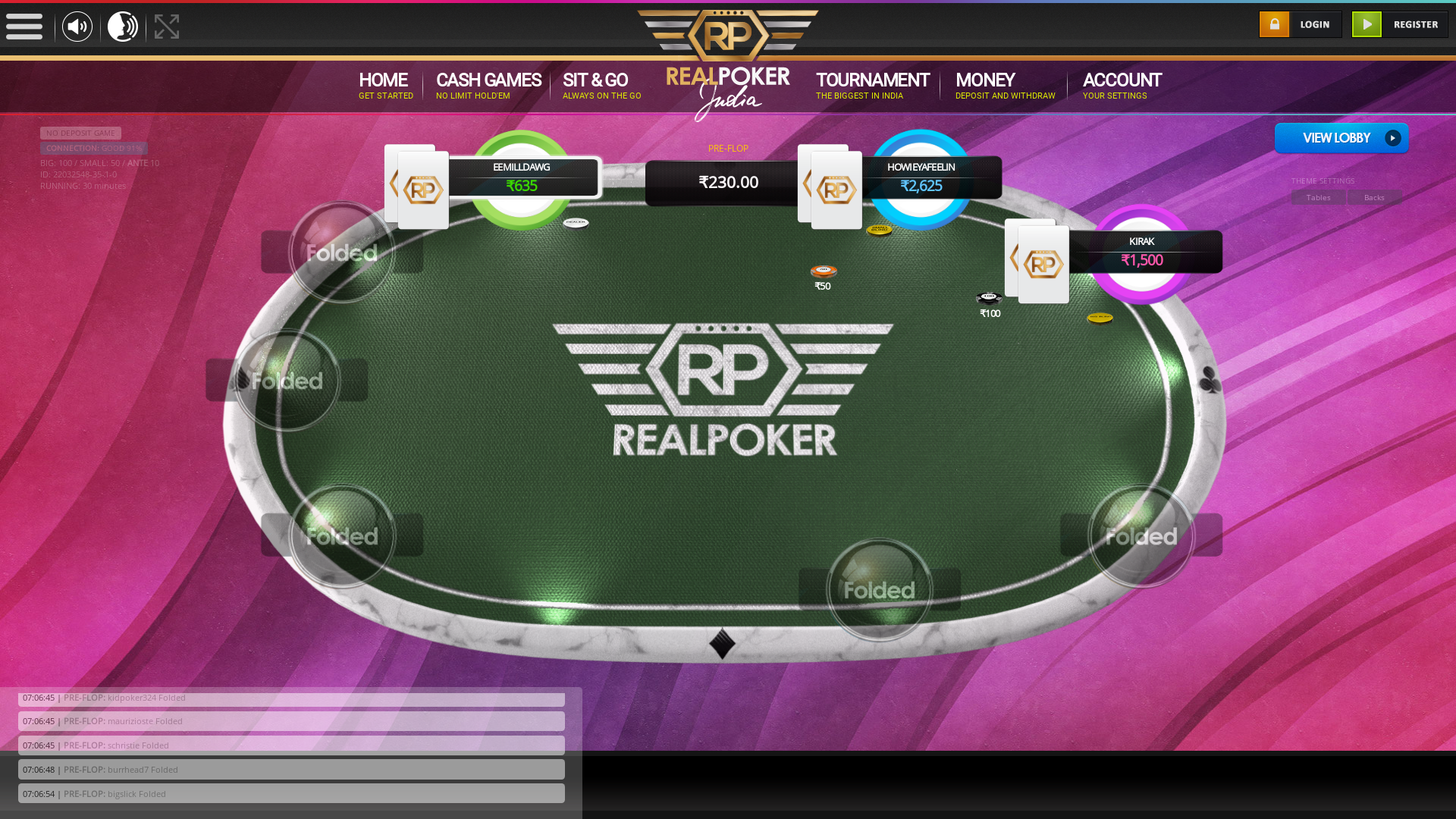 Paschim Vihar, New Delhi Indian Poker from August