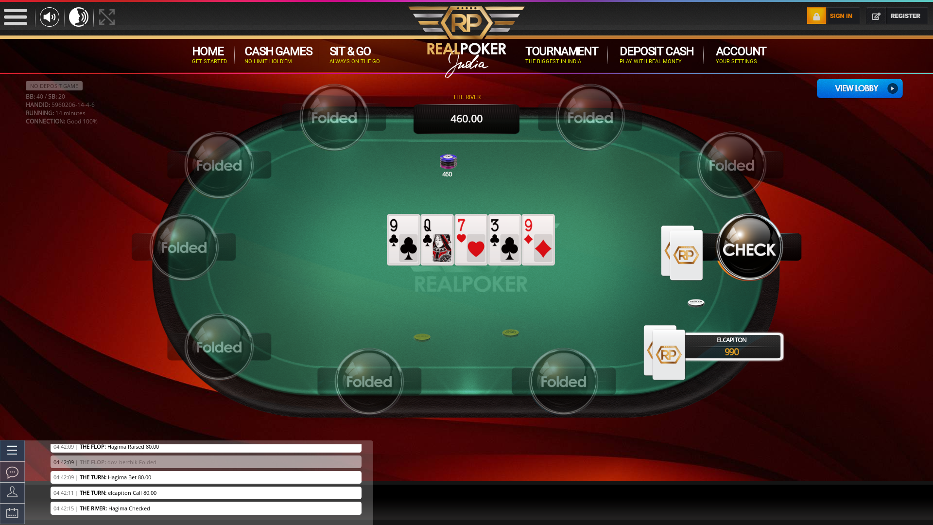 Mahadevpura, Bangalore Texas Holdem Poker 10 Player