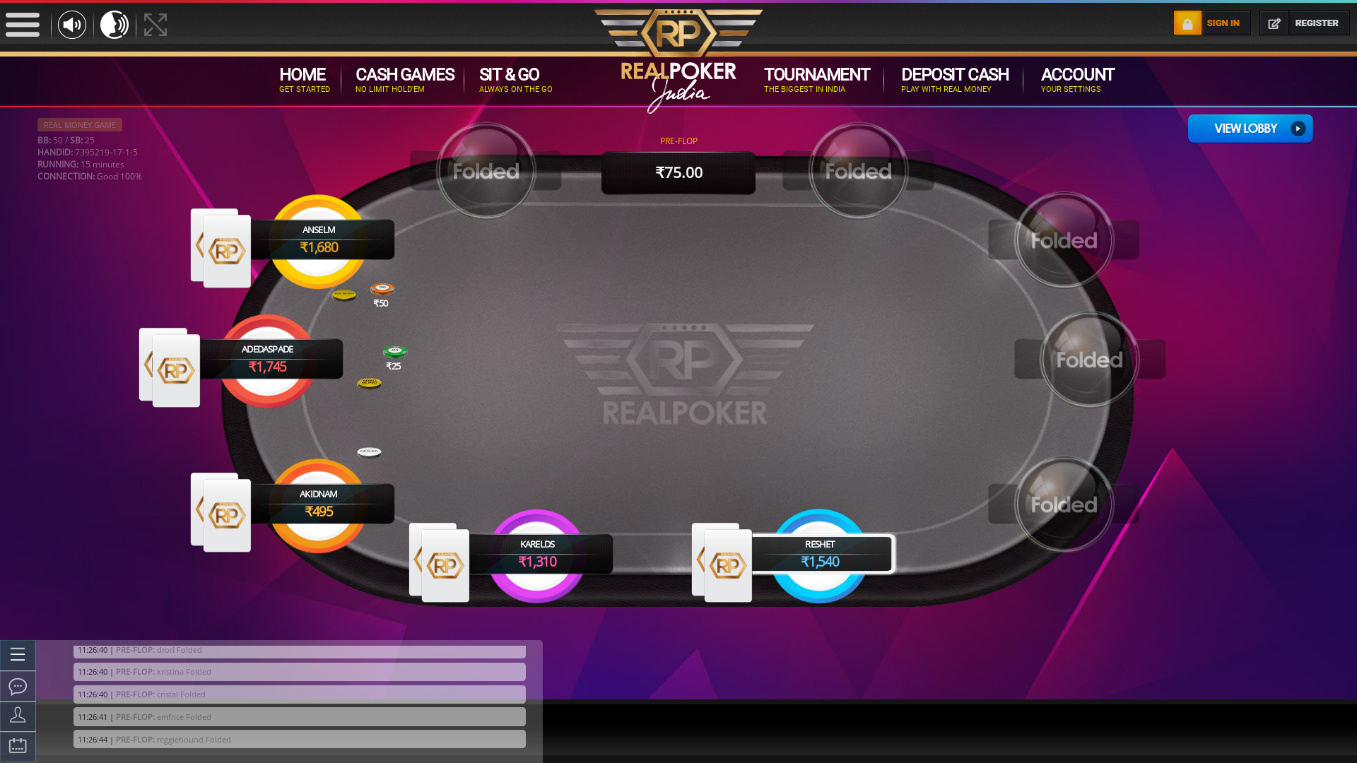 HSR Layout, Bangalore Holdem Poker from April