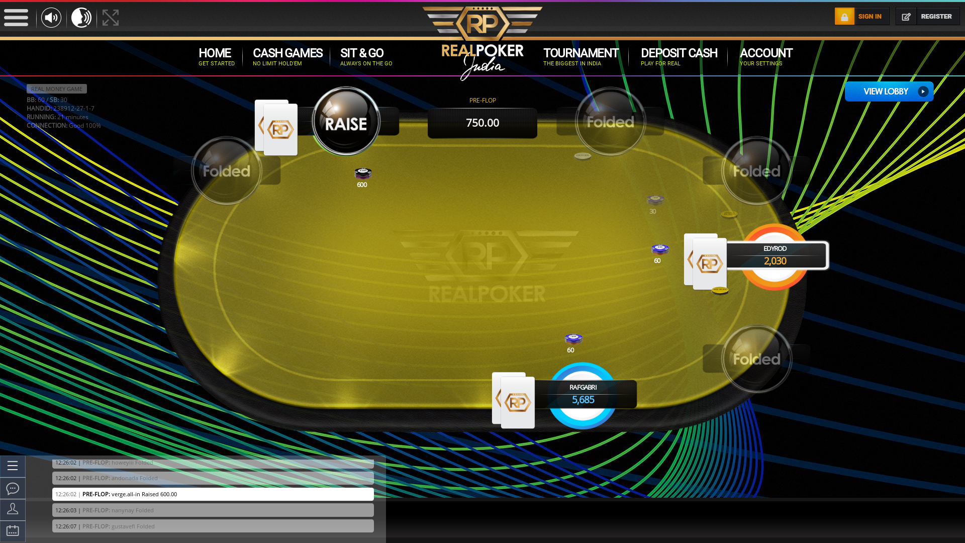 Indian 10 player poker in the 21st minute