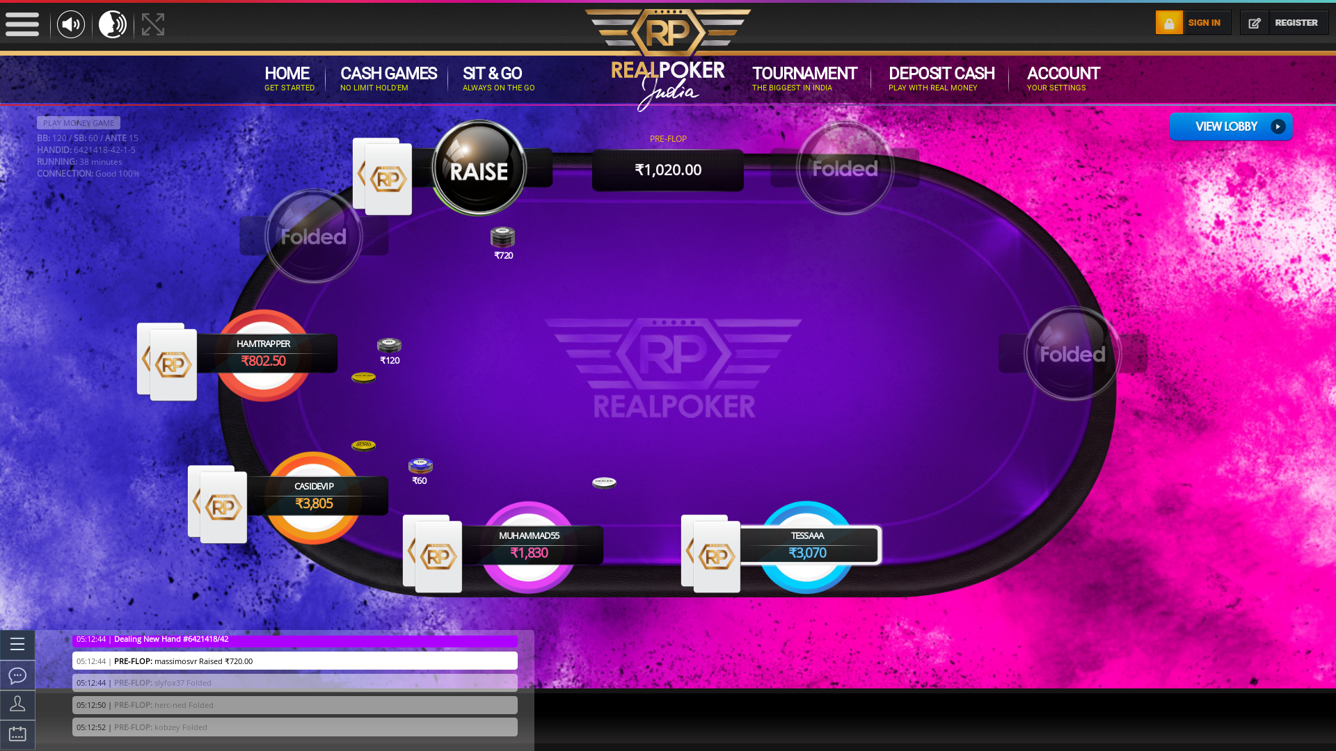 indian 10 player poker in the 38th minute