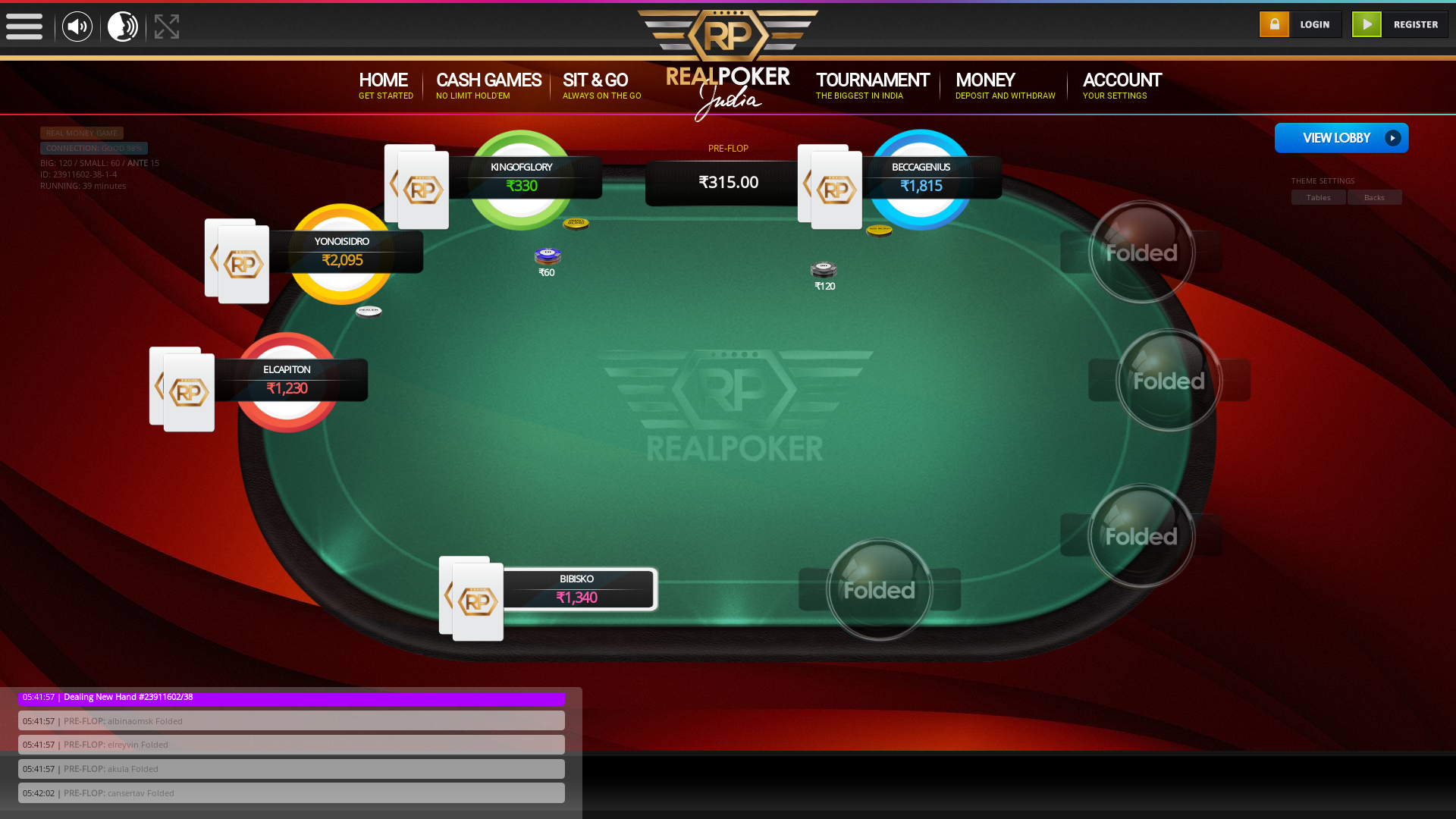 indian 10 player poker in the 39th minute