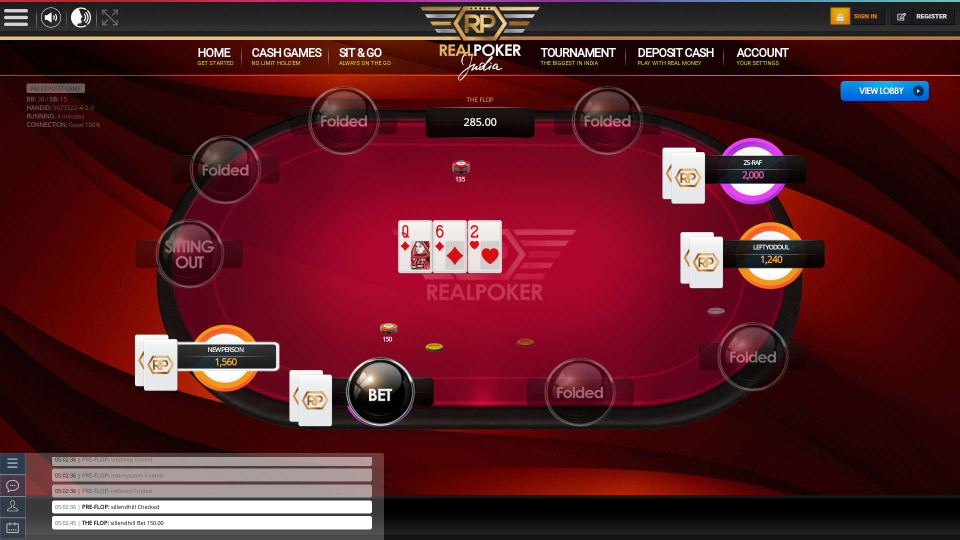 indian 10 player poker in the 4th minute