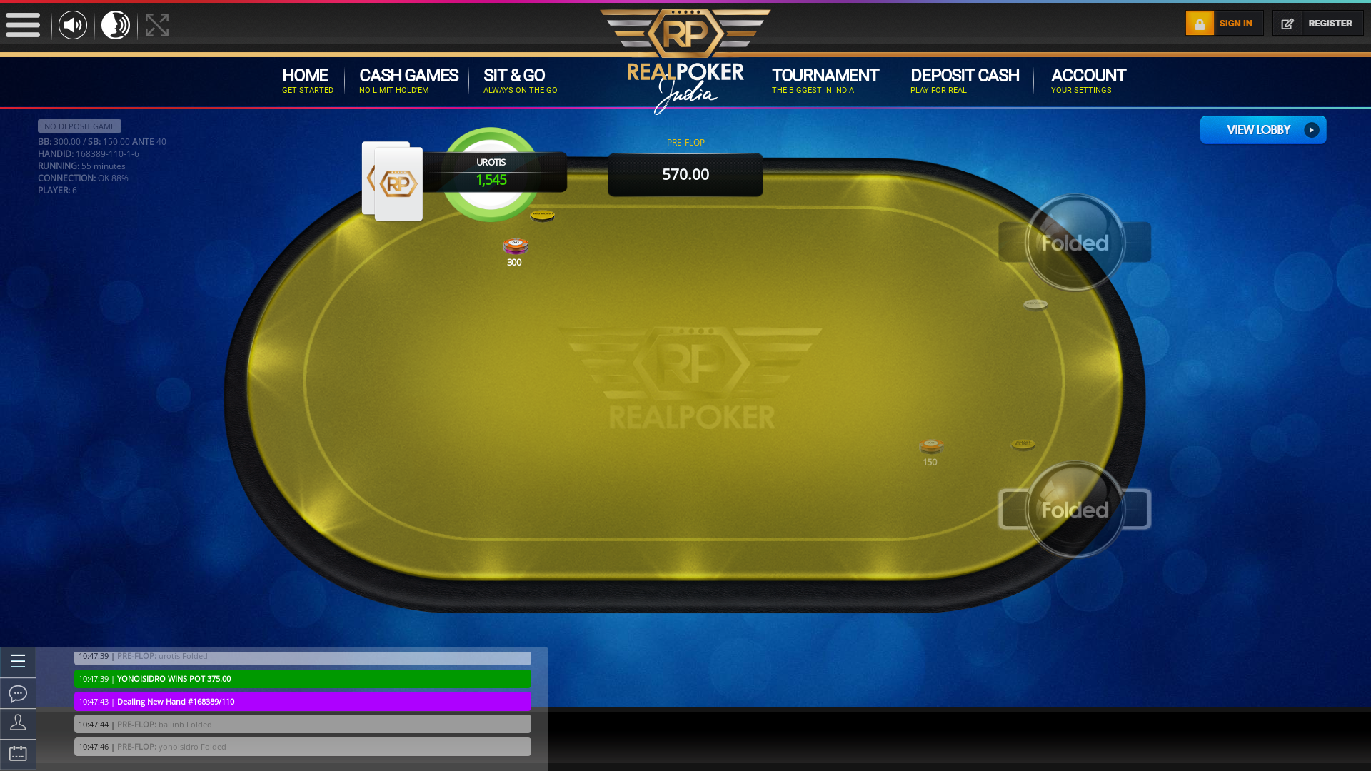 Indian 10 player poker in the 54th minute