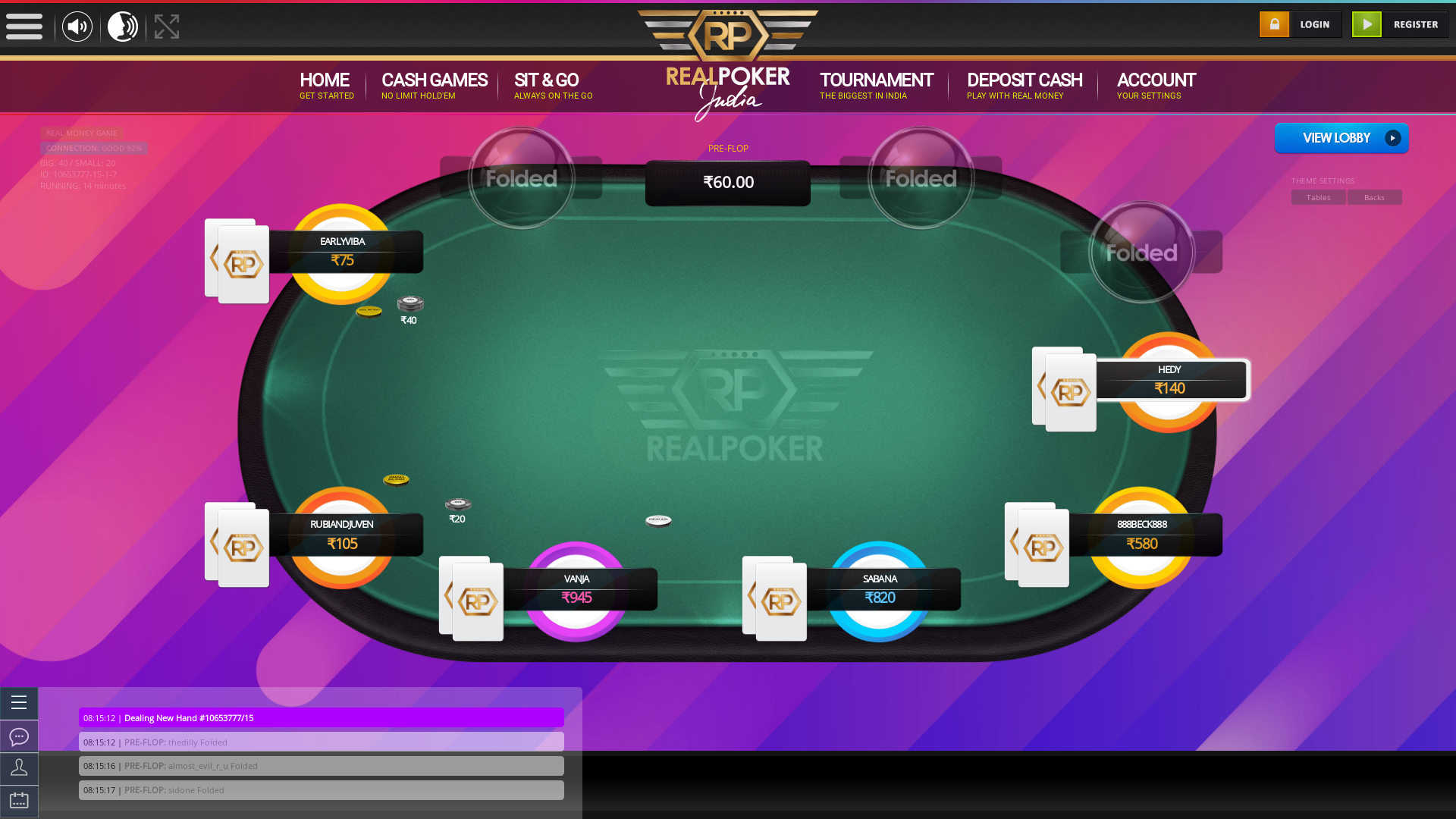 Janpath, New Delhi Online Poker from May