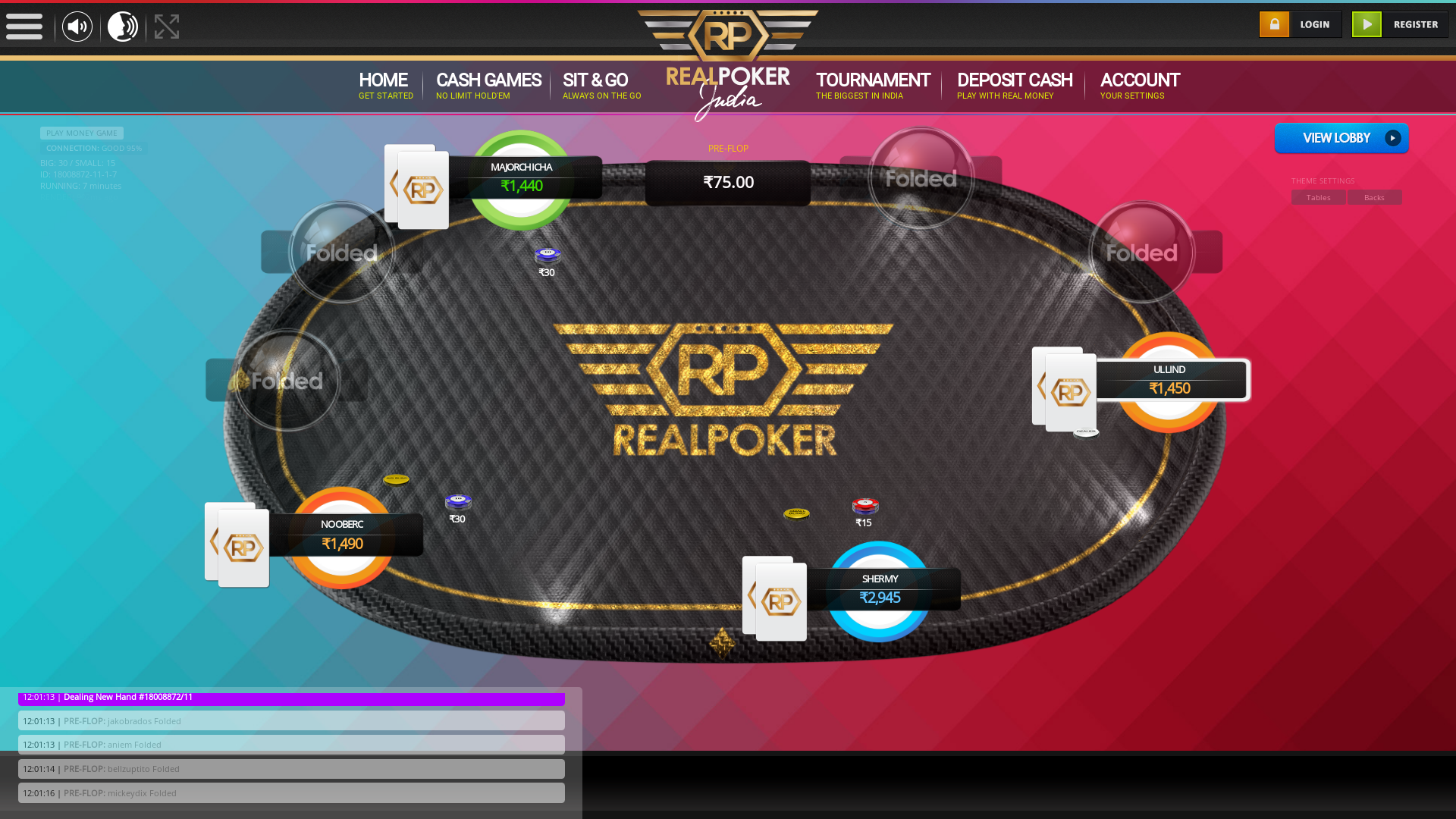 East of Kailash, New Delhi Poker Website 10 Player