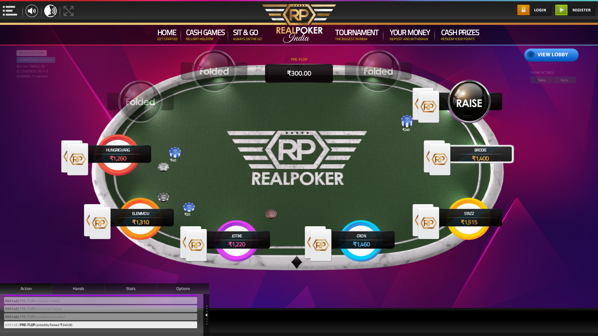Vasant Kunj, New Delhi Online Poker from September