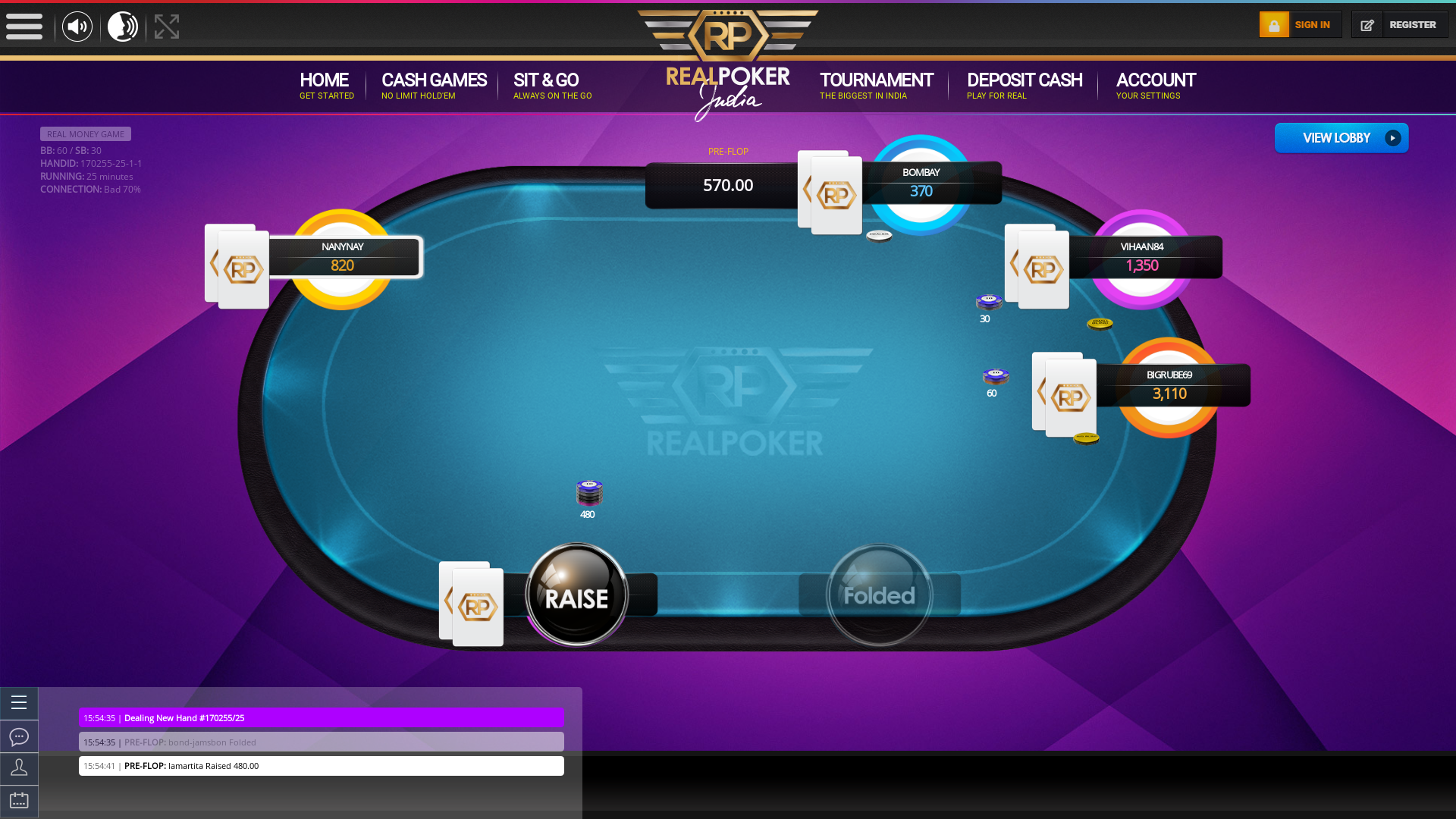 Mapusa Goa 10 player poker in the 24th minute