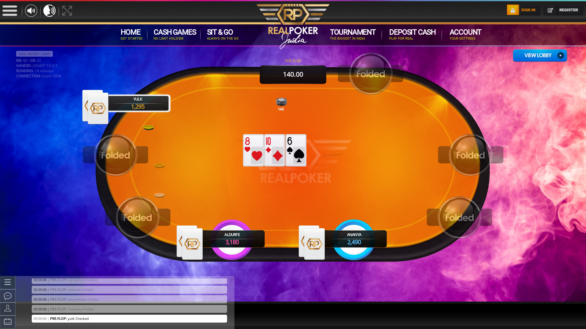 Netaji Nagar, Kolkata, Dhakuria, Kolkata Online Poker from 12th November