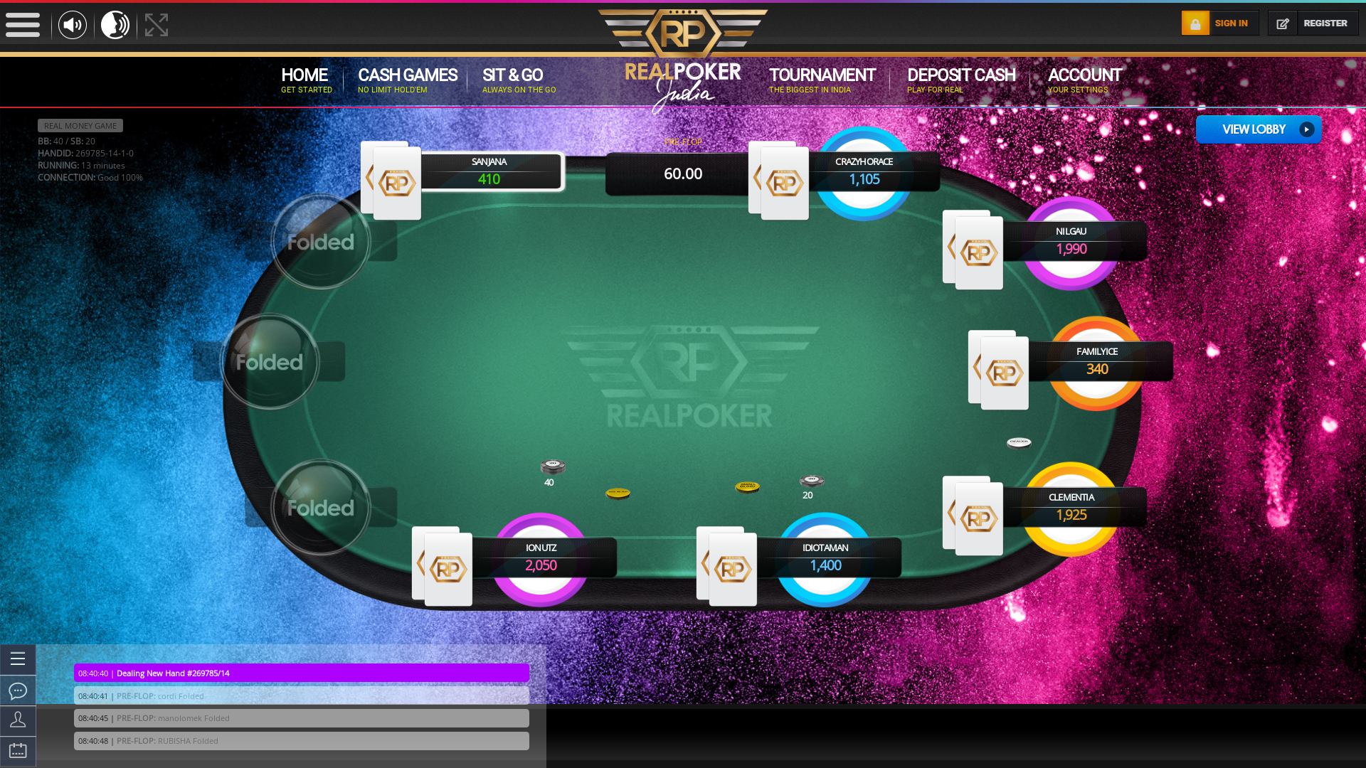 Whitefield, Bangalore Online Poker from 16th November