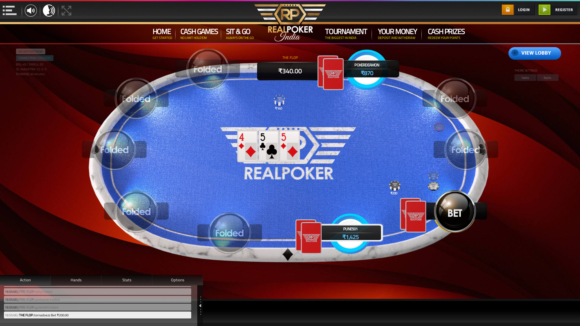 Nizamuddin, New Delhi Poker Website on the 26th November