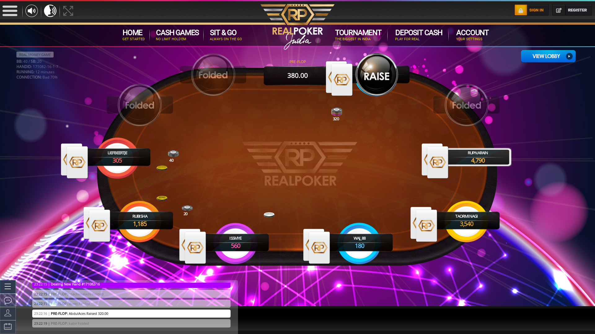 Allahabad Poker from 12th August