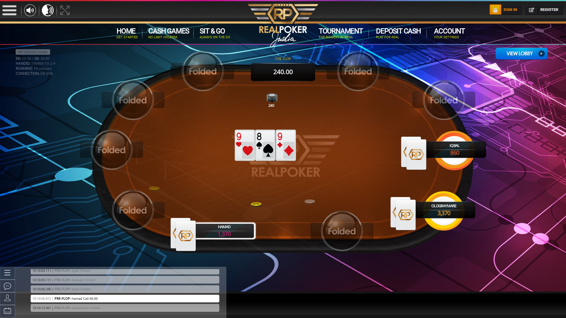 Agra Indian Poker from August