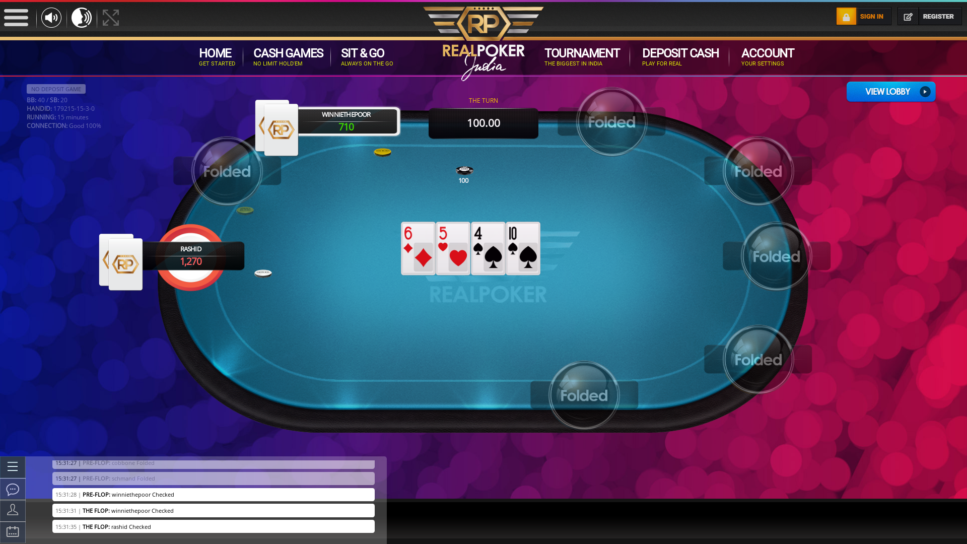 Gariahat, Kolkata Online Poker 10 Player