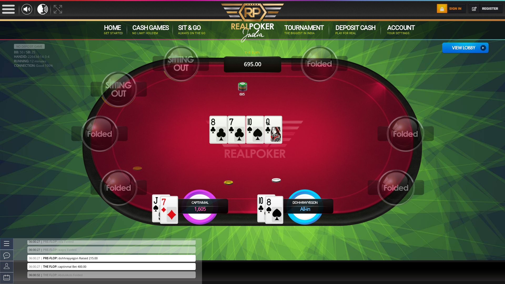 Khar, Mumbai Online Poker from October
