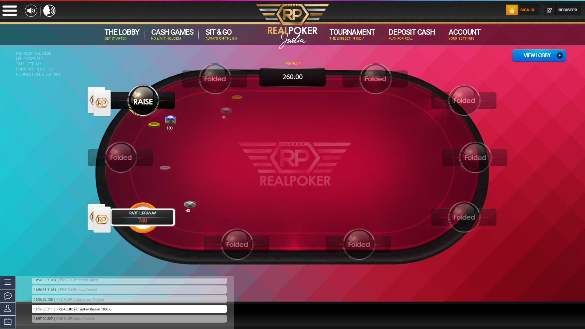 Thiruvanthapuram Online Poker from July