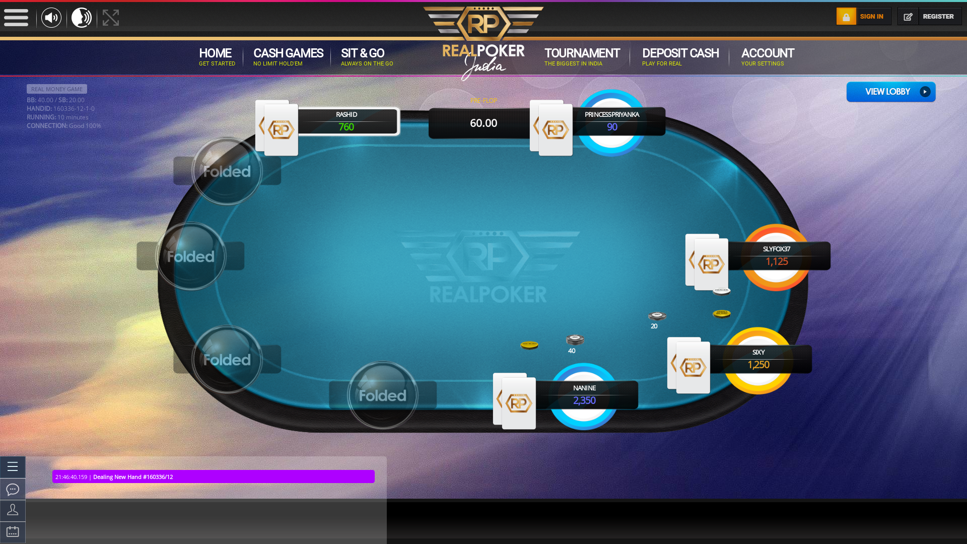 Meerut Online Poker 10 Player