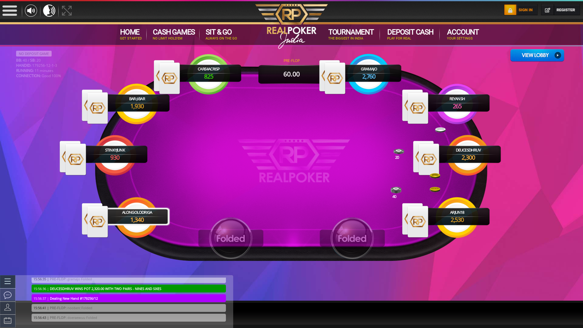 Yeshwanthpur, Bangalore Jackpot Poker 10 Player