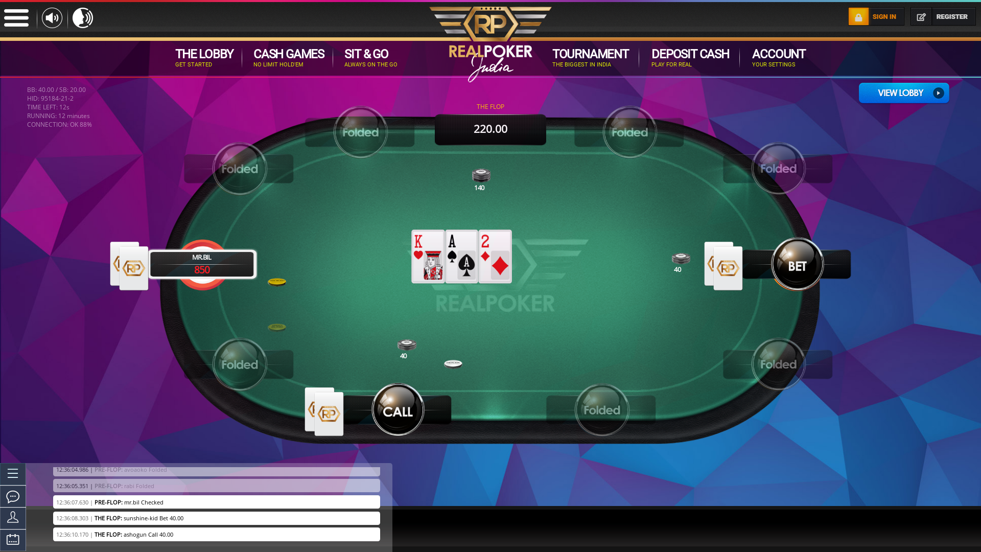 Gurugram Online Poker from July