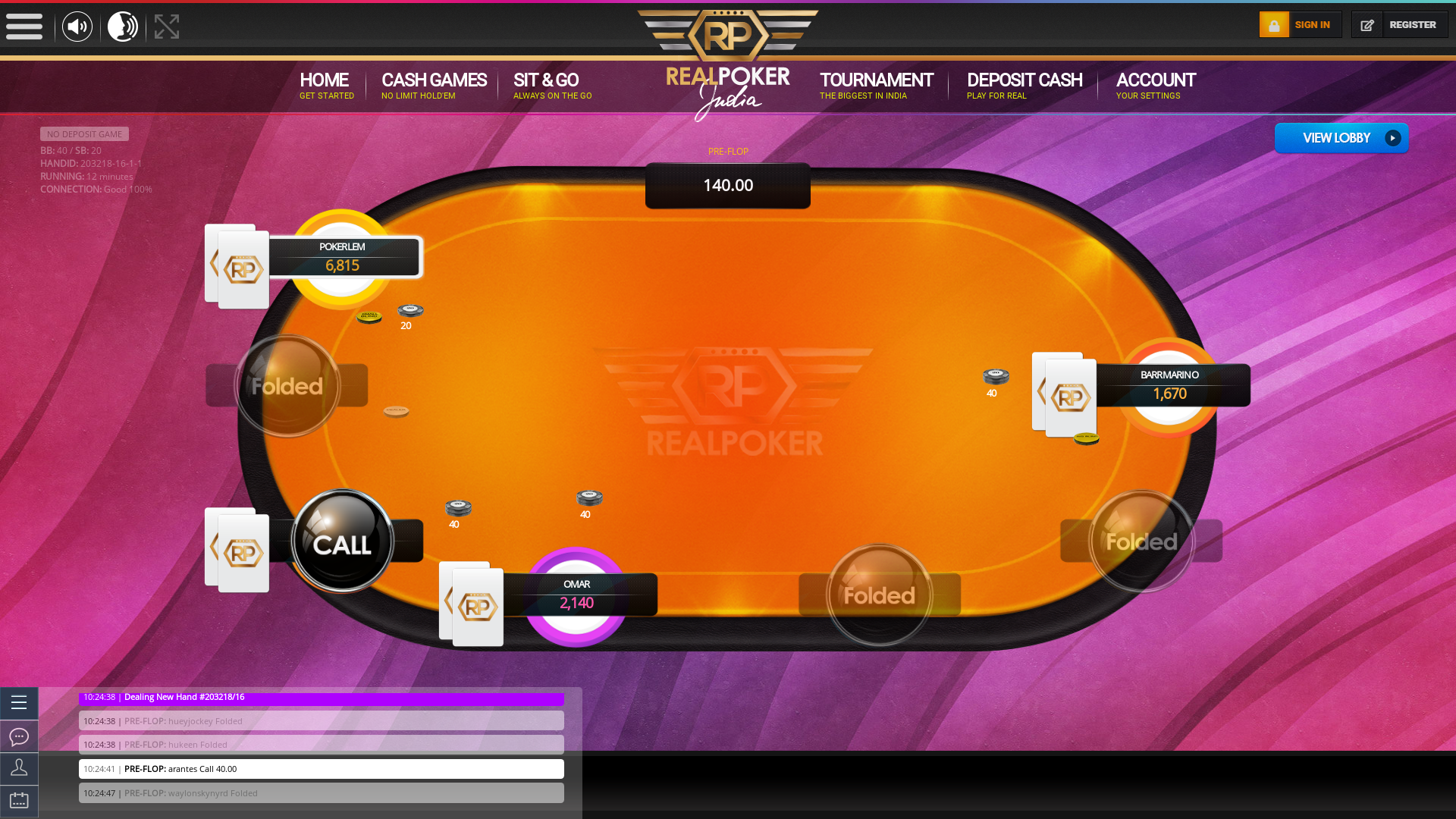 Manipal Play Poker 10 Player
