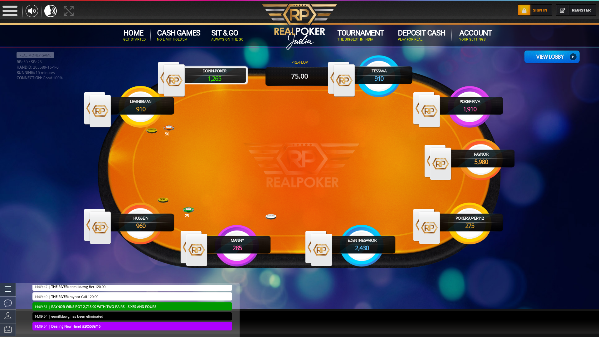 Connaught Place, New Delhi Indian Poker from September