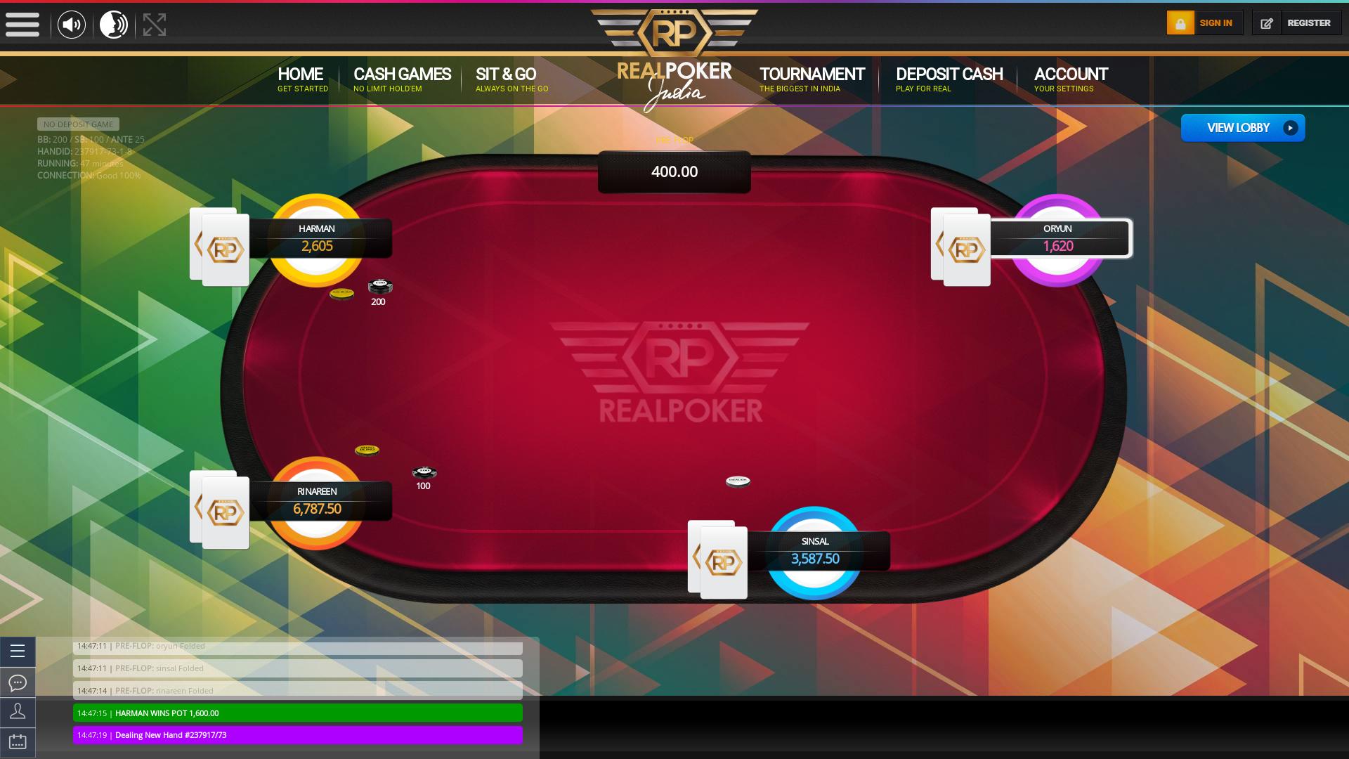 Online Real Poker