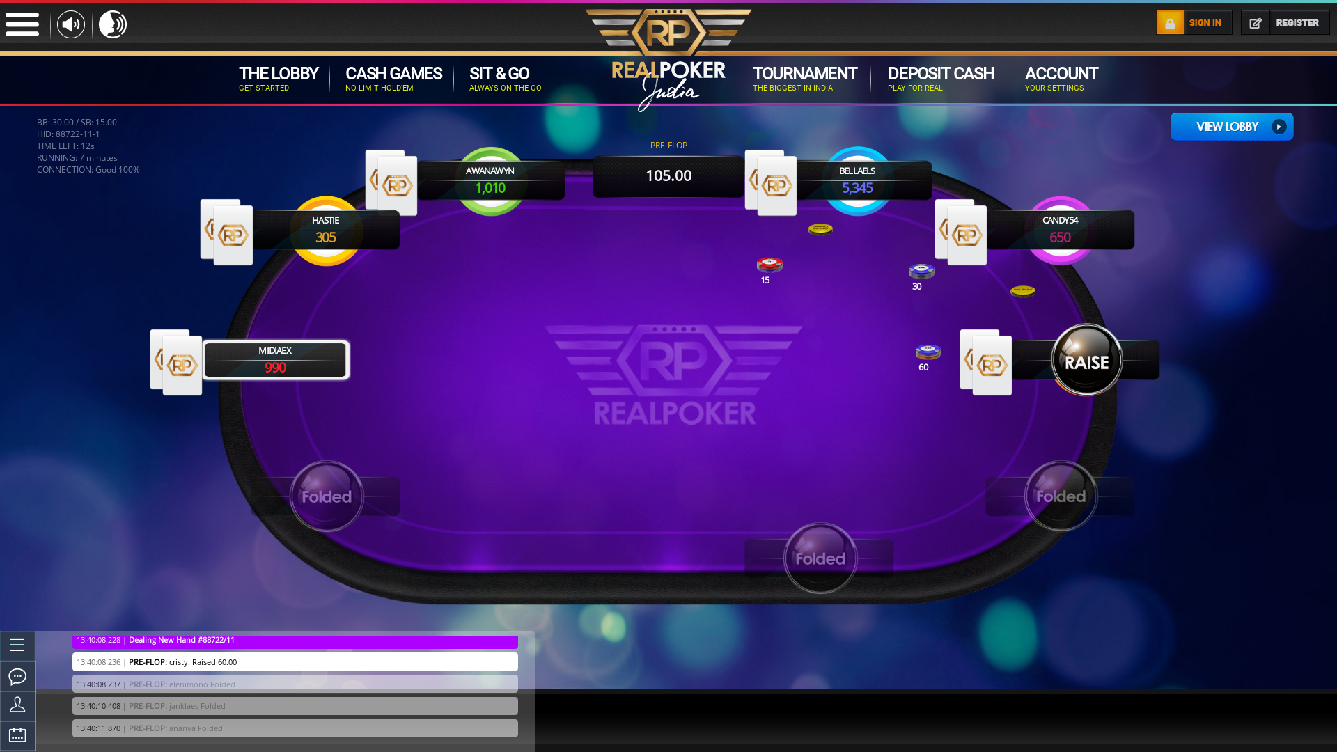 Thursday Afternoons  Mumbai Online Poker