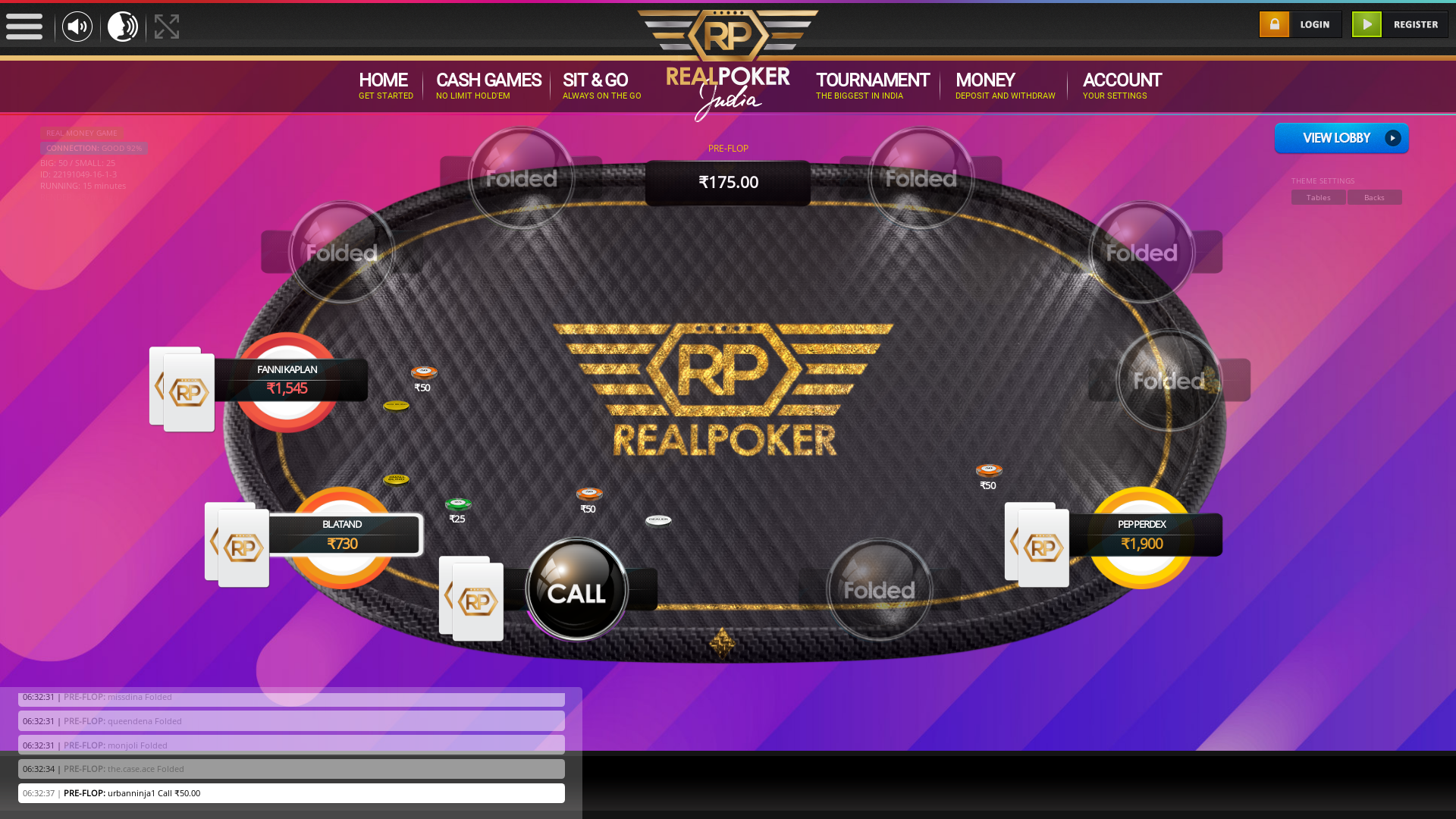 Nandini Layout, Bangalore Indian Poker from 21st August