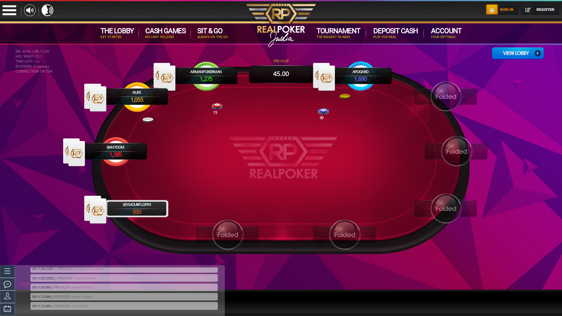 Coimbatore Real Poker 10 Player