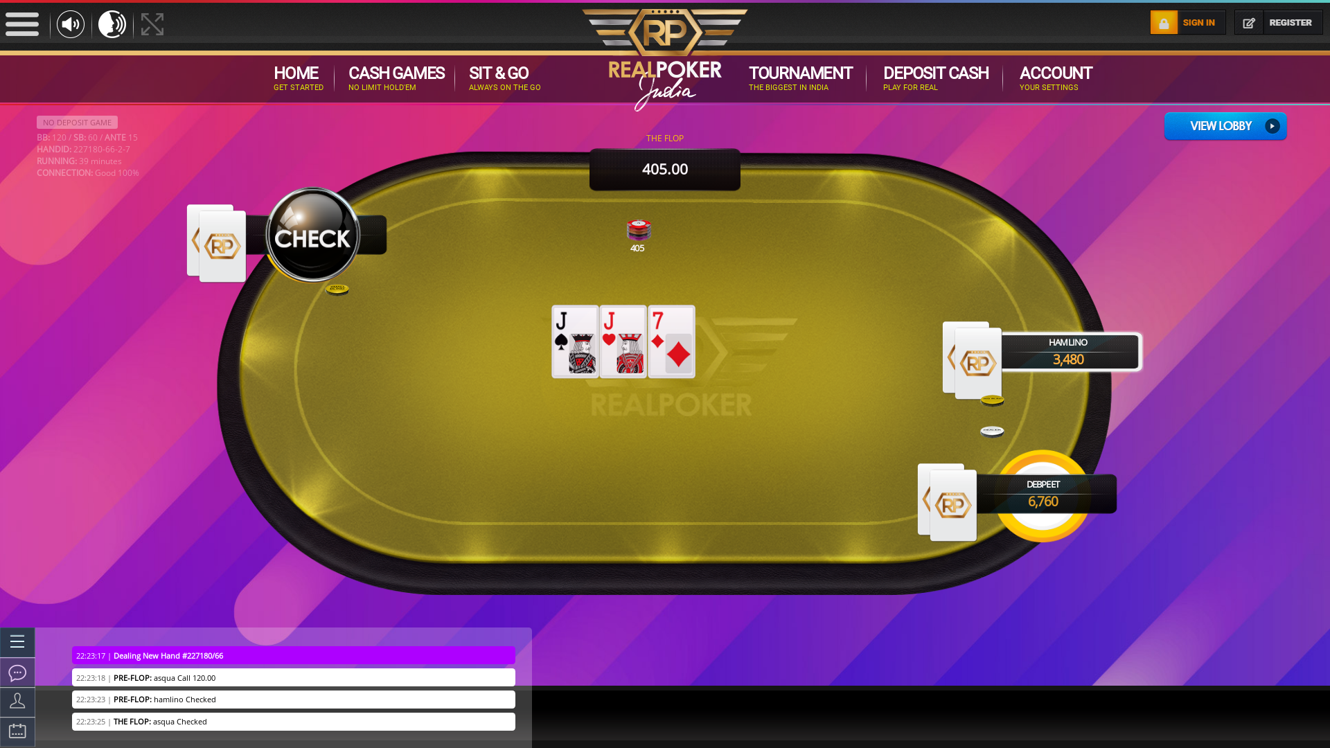 Sarjapur, Bangalore online Indian poker