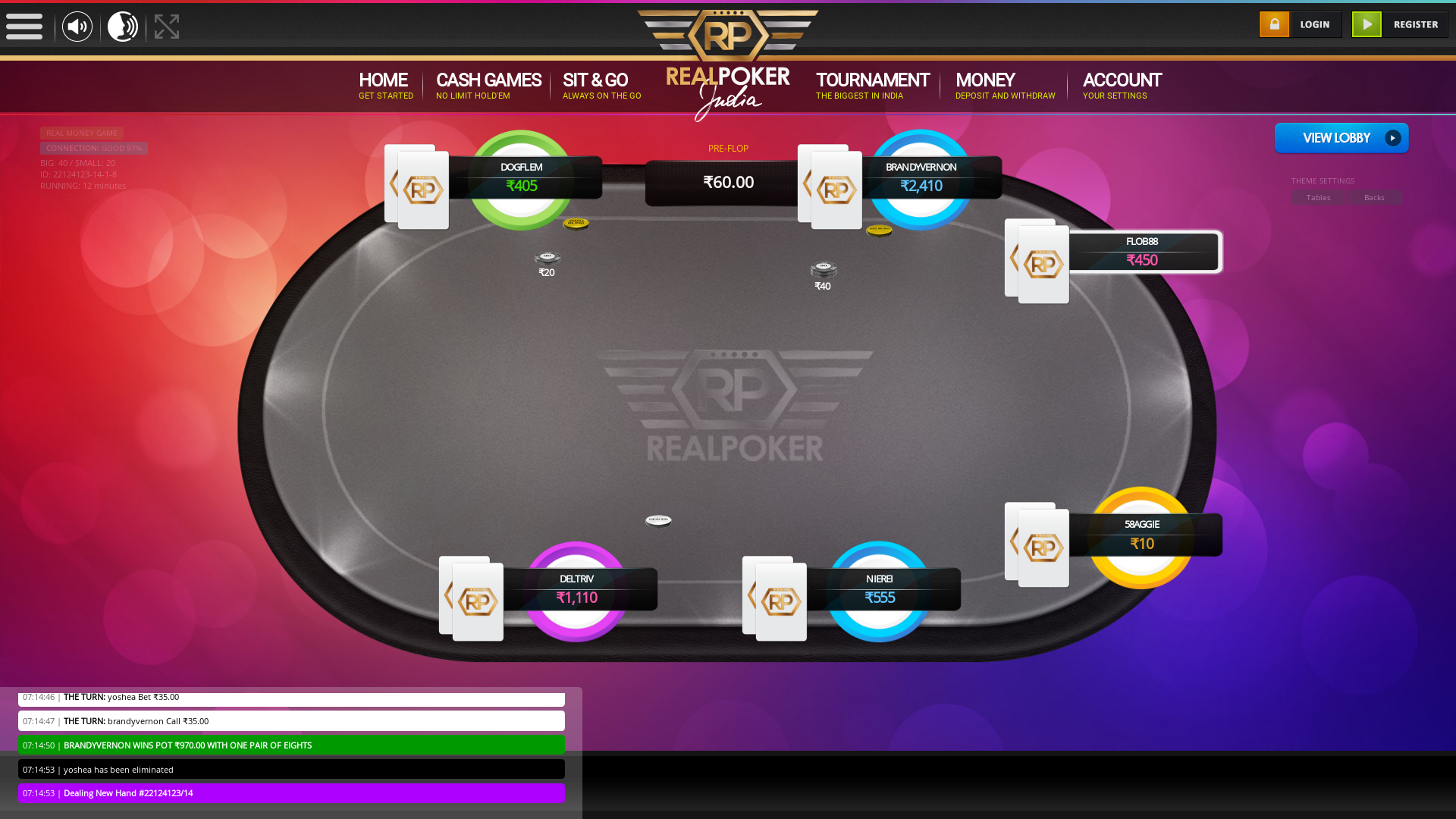 Hebbal, Bangalore Play Poker from August