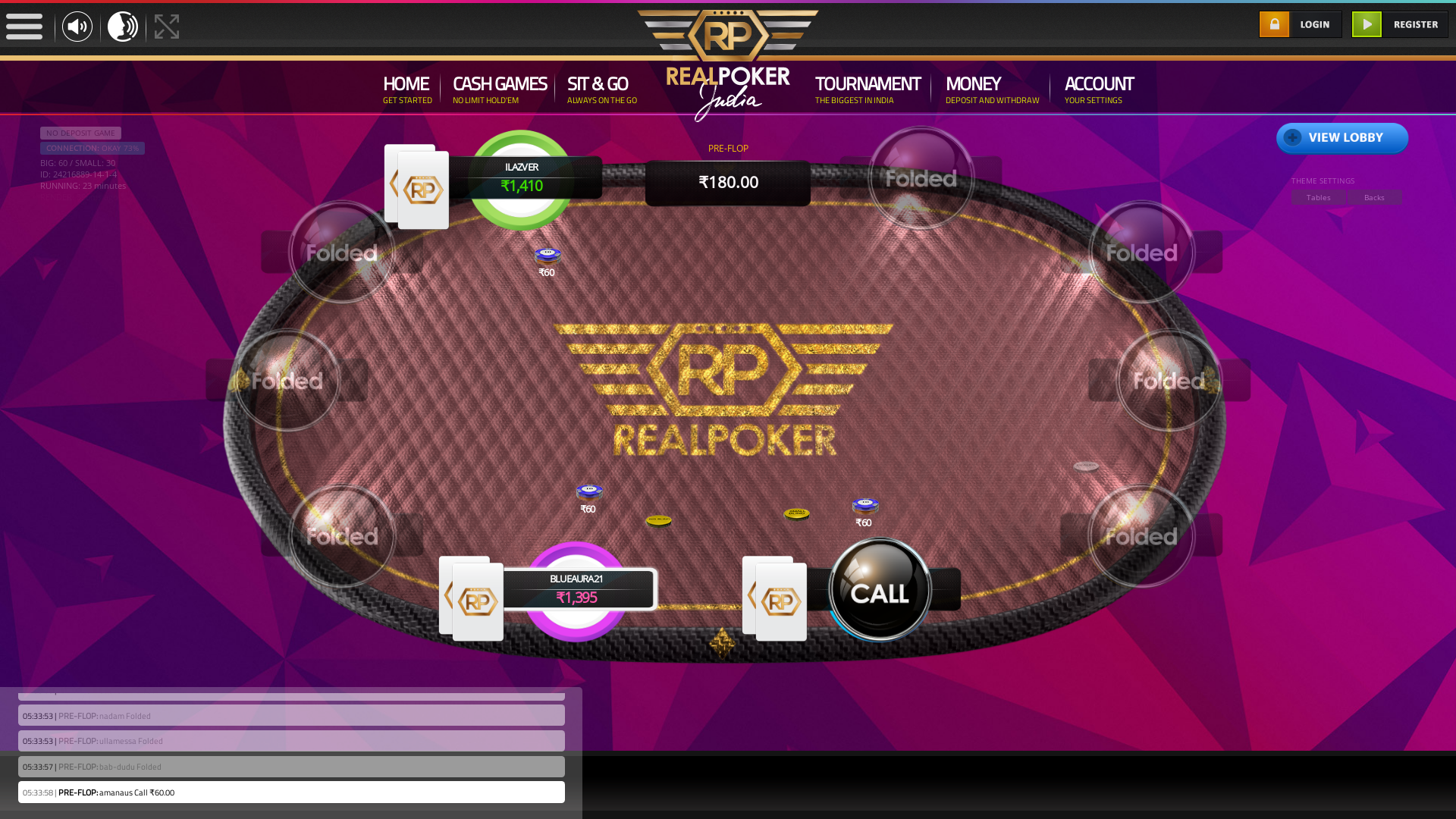 Boat Club Road, Pune Online Poker from September