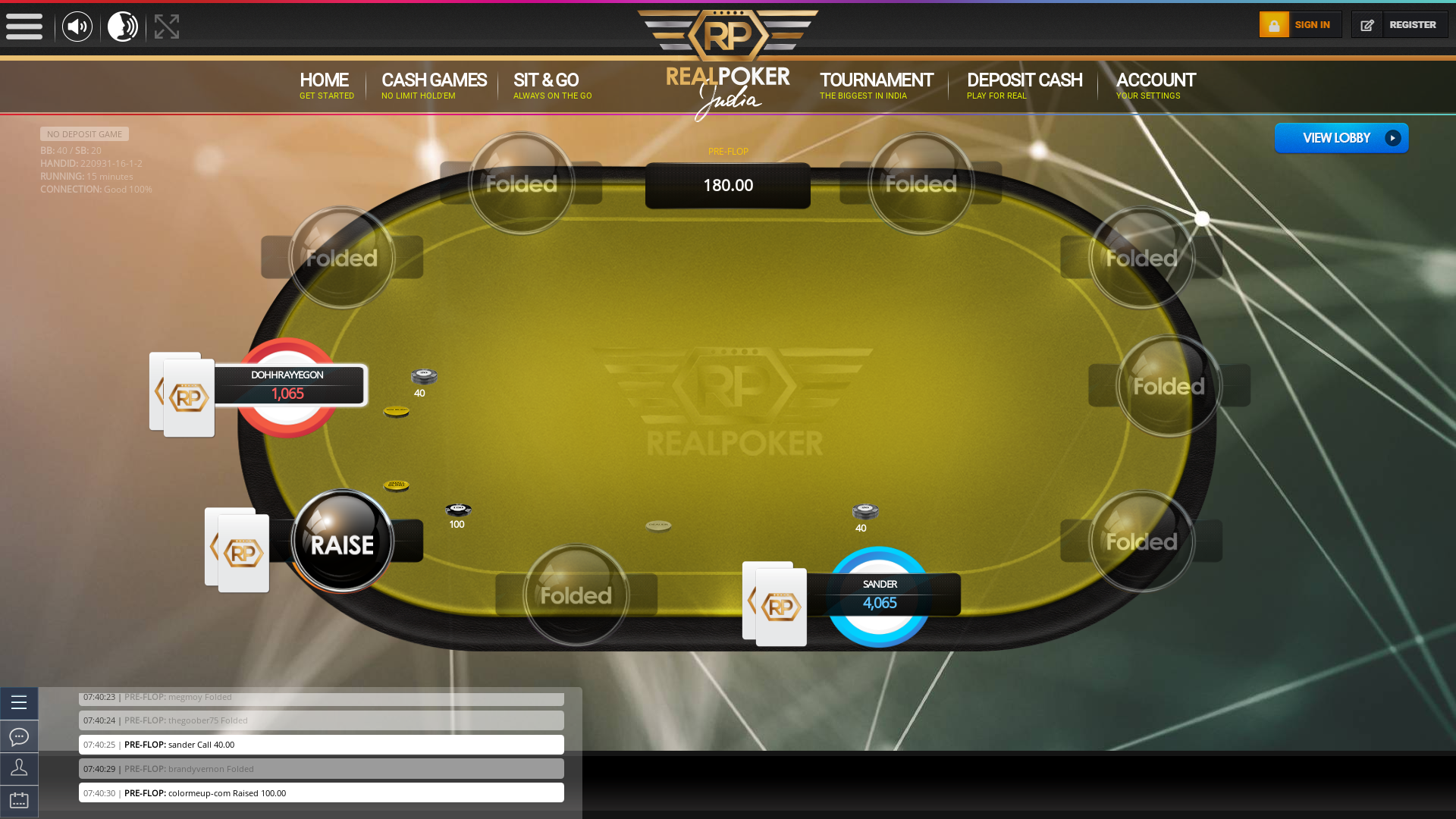 Rohini Poker Website from 3rd October