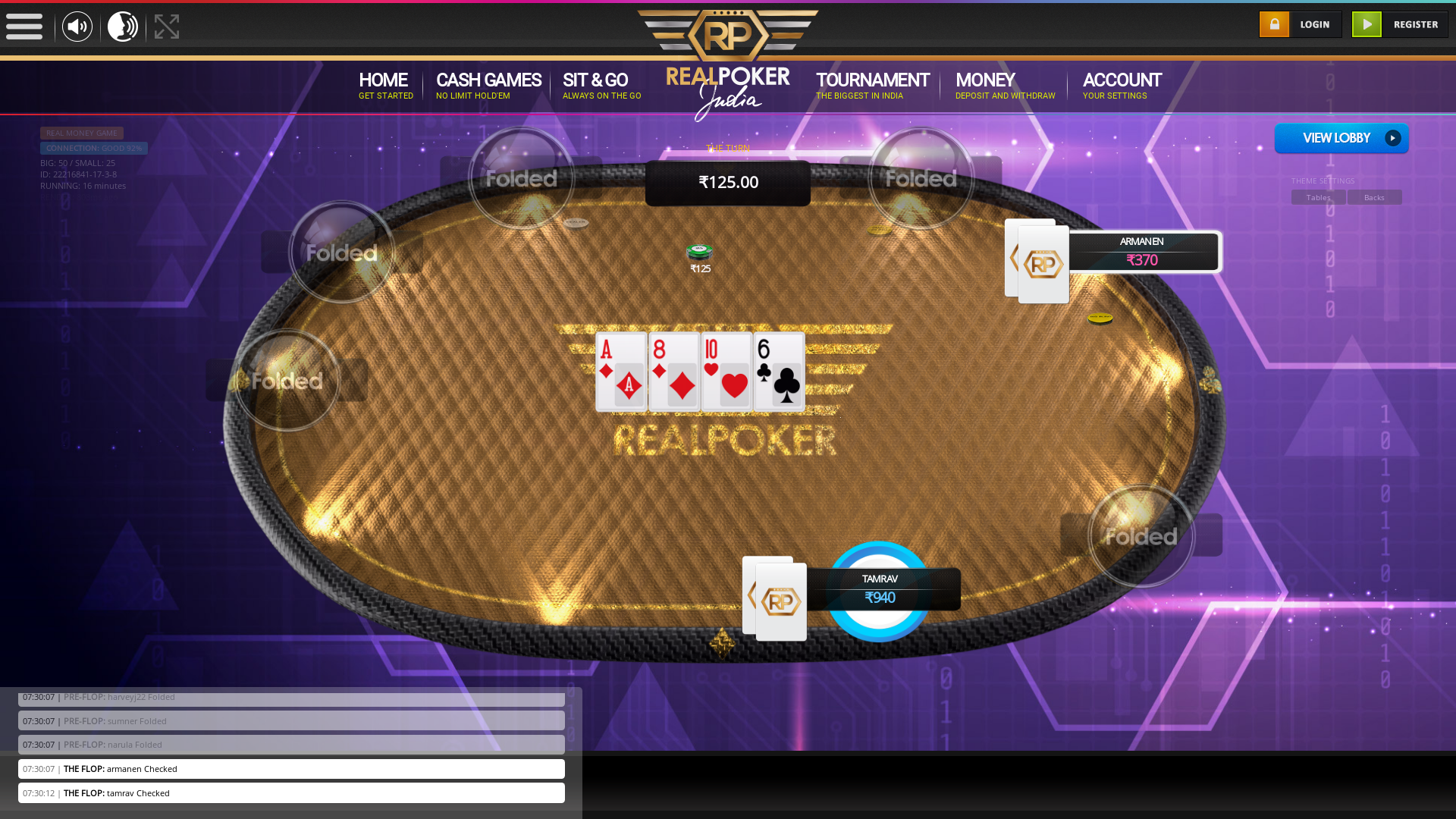 Worli Mumbai Holdem Poker 10 Player