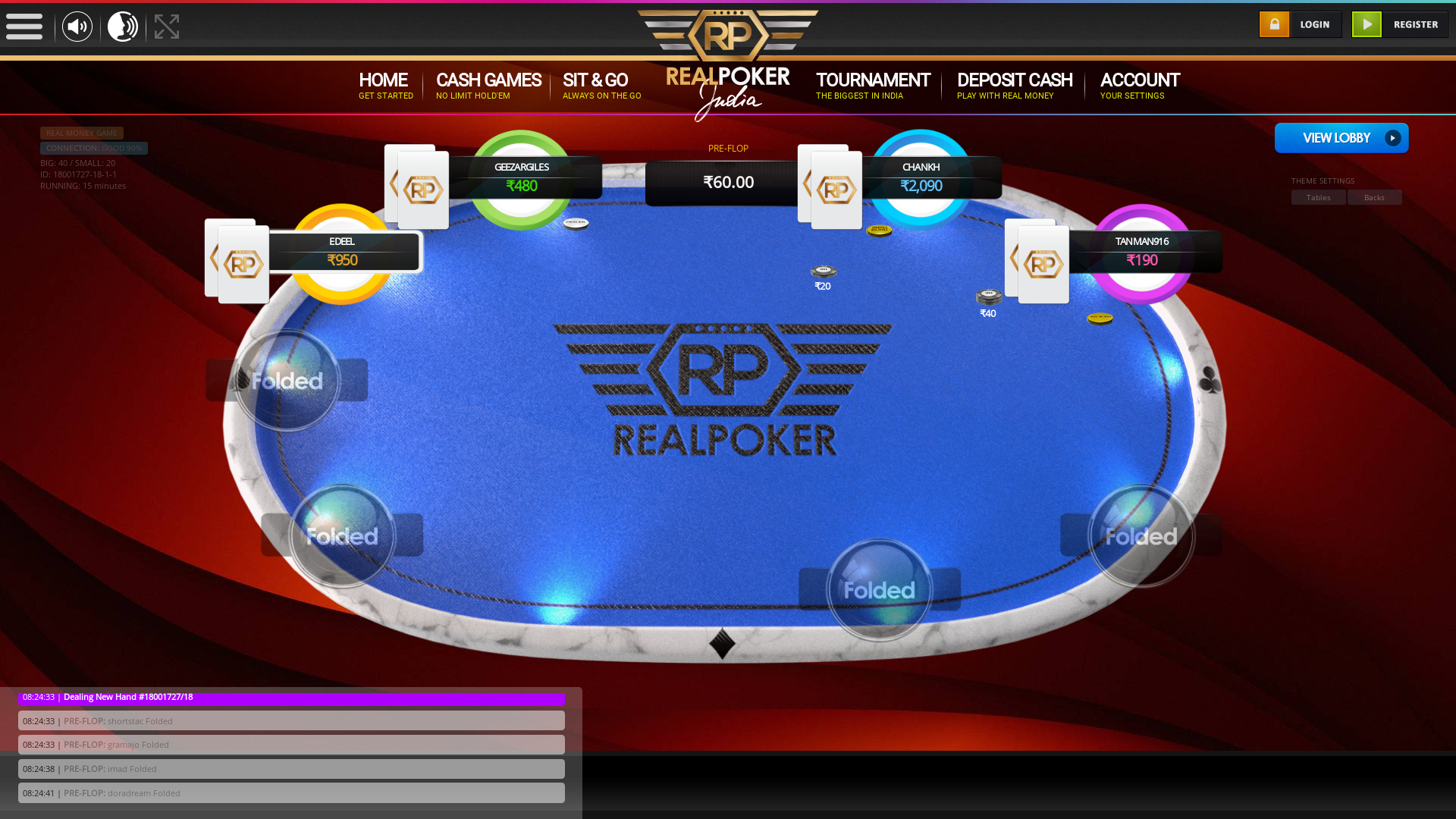 Greater Kailash, New Delhi Holdem Poker from July