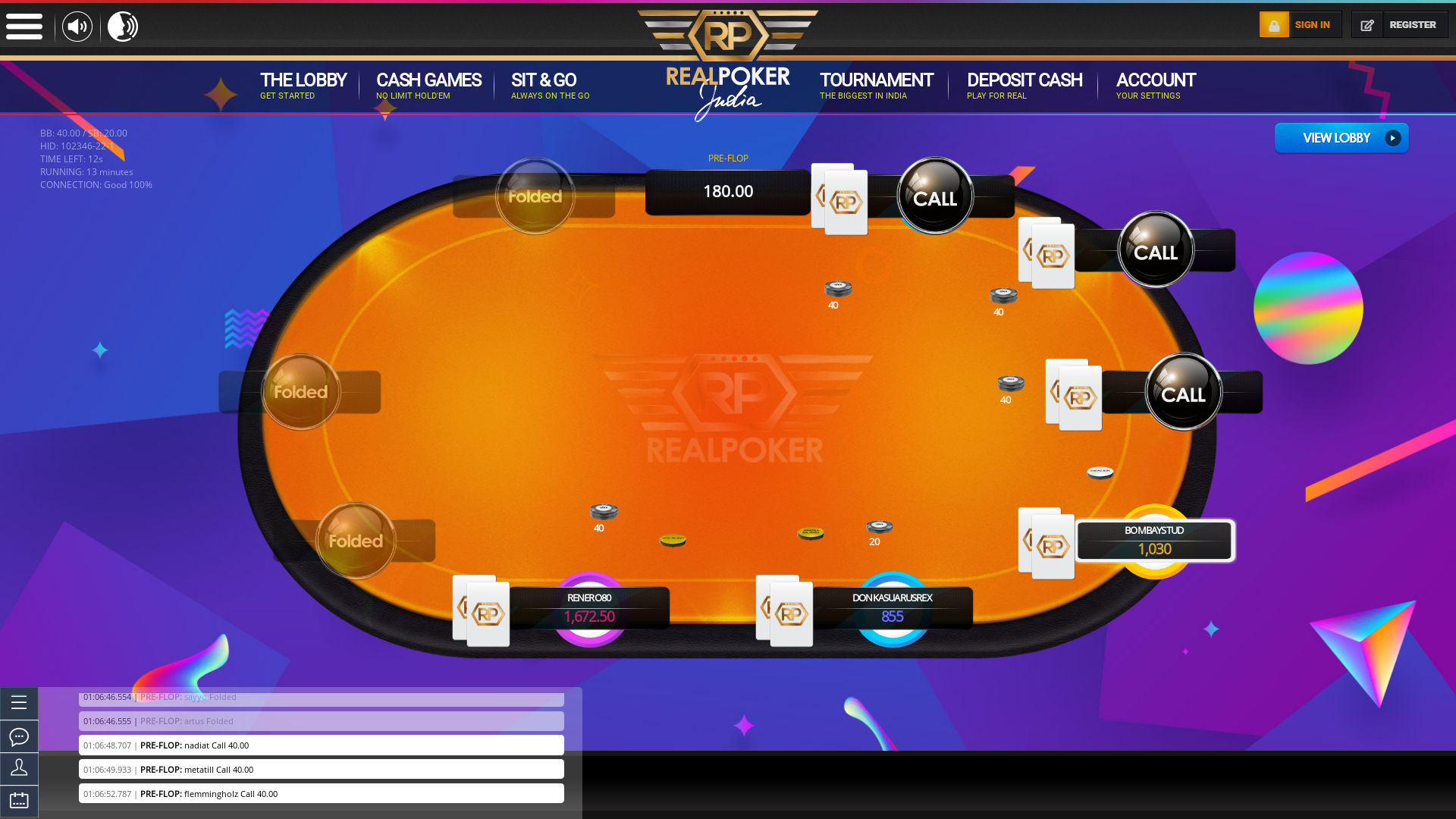 Cavelossim Real Poker 10 Player