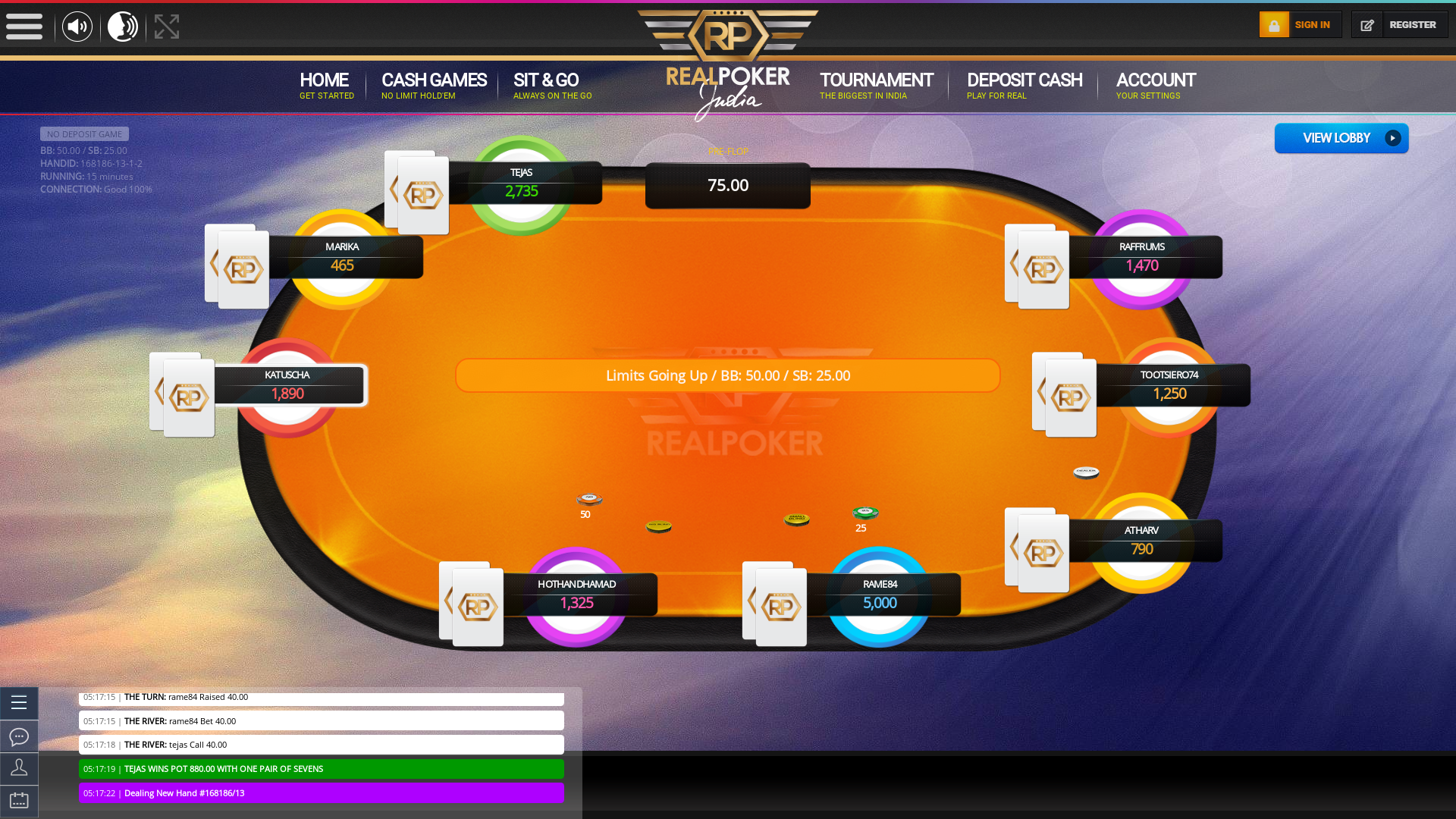 Trivandrum Indian Poker 10 Player