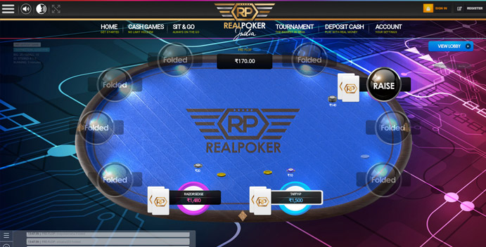 Real Poker Online Site